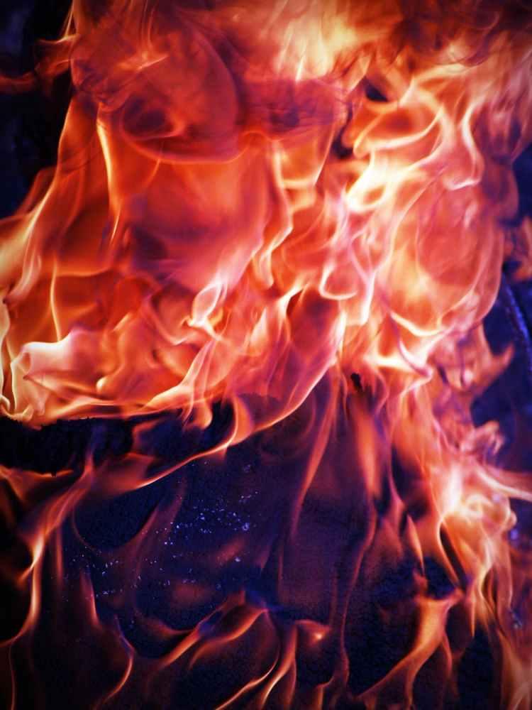 blaze blazing bonfire burning